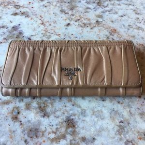Authentic Prada Milano long Wallet
